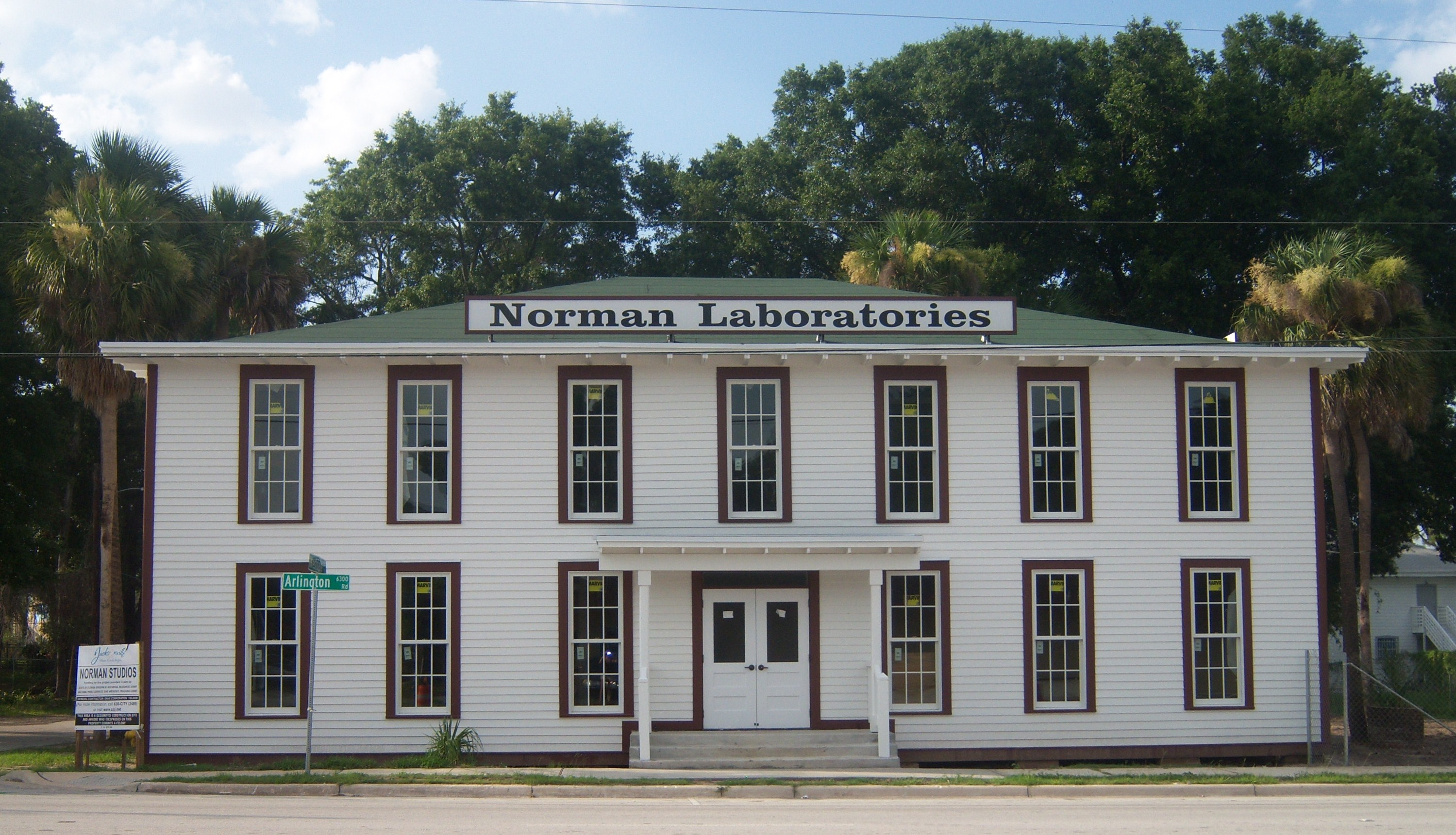 norman studios production & processing bldg 2008